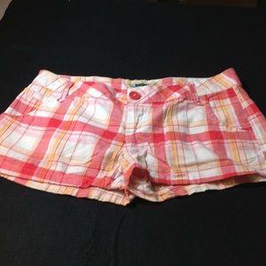 Freestyle Revolution Plaid Shorts Size 9